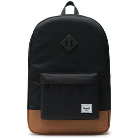 Herschel Heritage Sac à dos, black/saddle brown